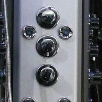 Insignia Premium 800mm x 800mm Non Steam Quadrant Hydro Shower Cabin - Customise Colour Frame and Glass